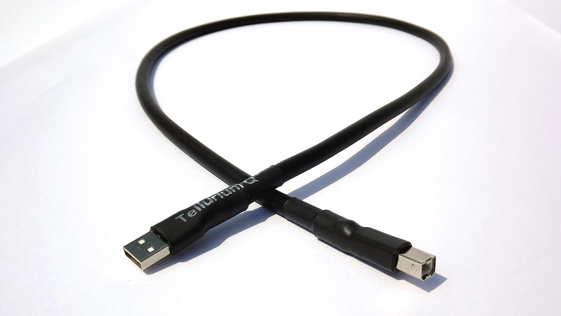 Tellurium Q | Black | USB Kabel
