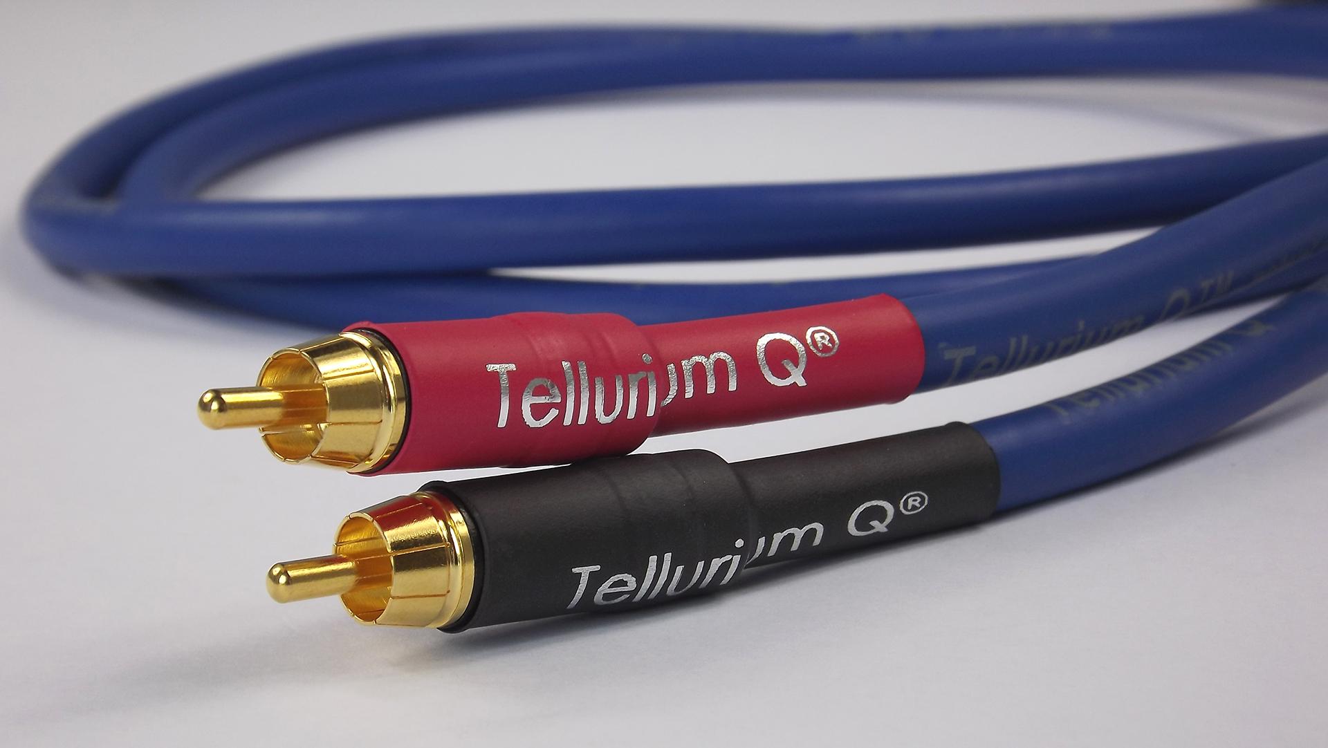 Tellurium Q | Blue | Interconnect RCA