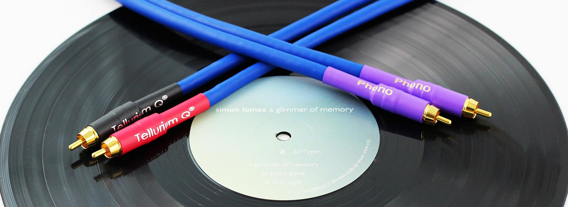 Tellurium Q | Blue | Interconnect Phono