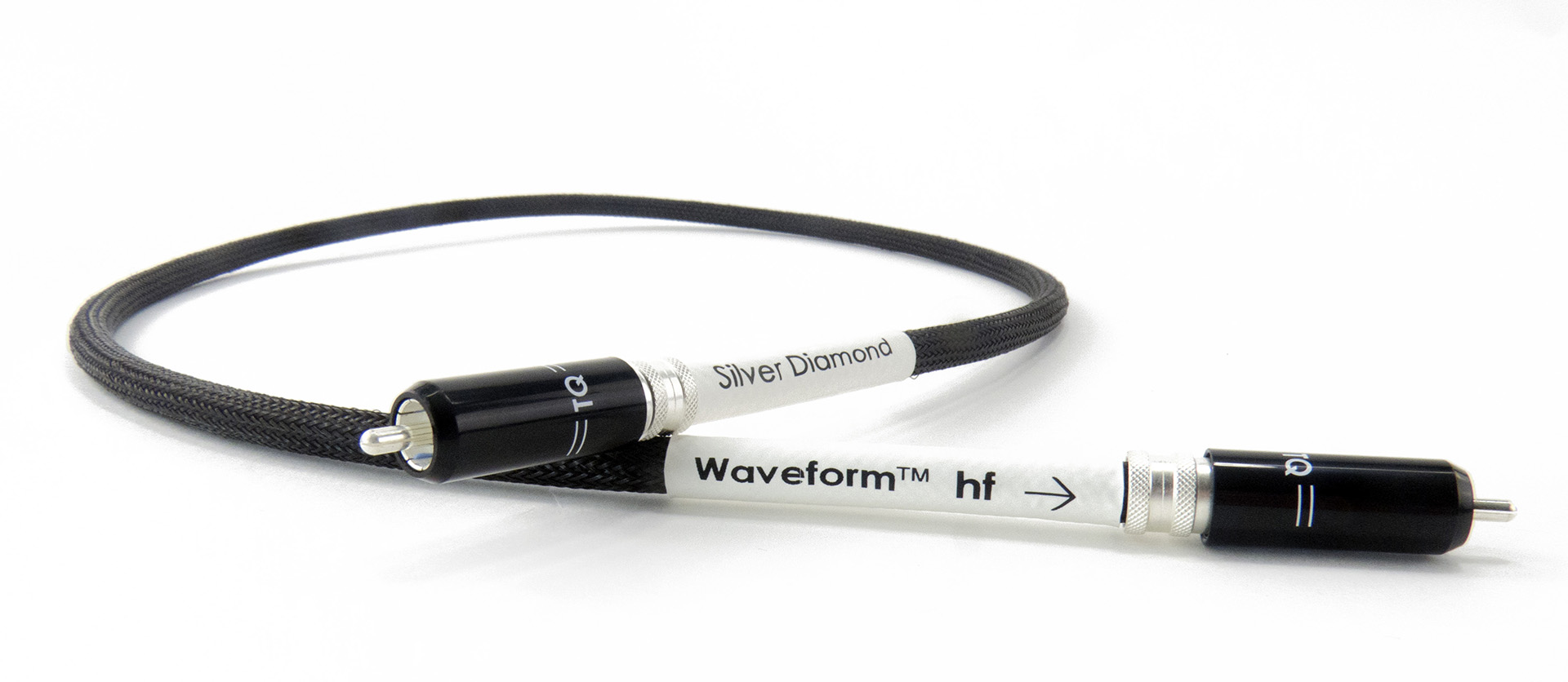Tellurium Q | Silver Diamond | Waveform® HF RCA